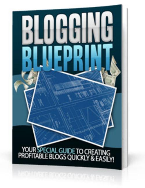 Product picture Blogging Blueprint